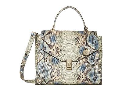 Brahmin Roxanne Ingrid Satchel (Haven) Handbags