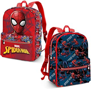 Spiderman Hero Mochila Infantil, 40 cm, Azul