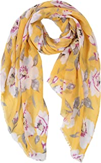 09be018ff Eligible for FREE UK Delivery. Ladies Women's Fashion Butterfly Print Long  Scarves Floral Neck Scarf Shawl Wrap by DiaryLook