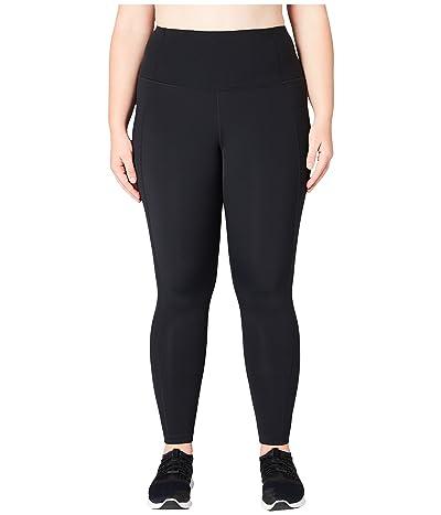 Core 10 Flashflex Plus Size High-Waisted Run Leggings (Black) Women