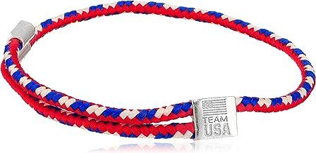 Alex and Ani Womens Hope Rope USA Bracelet