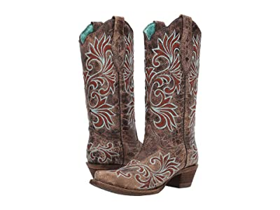 Corral Boots A3755 (Brown) Women