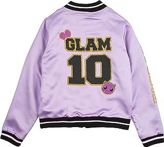 Jacket for Girls Sizes 4-16 - Fierce Girls' Bomber LOL Jacket