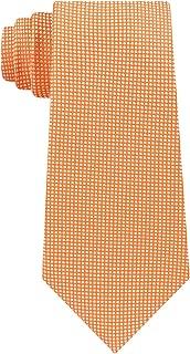 Micro-Grid Core Men's Silk Woven Neck Tie