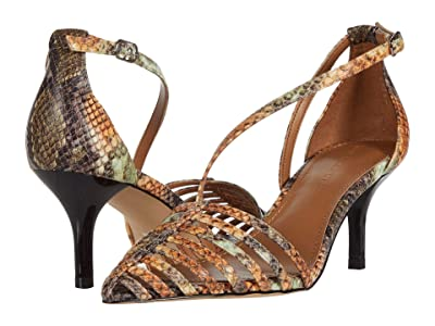 Who What Wear Kennedy (Pecan/Natural Snake) Women