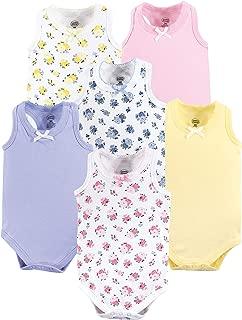 Luvable Friend Unisex Baby Sleeveless Cotton Bodysuits