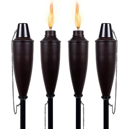 Des Torches 3er-pack 55 cm de long Outdoor Jardin Fête Survival