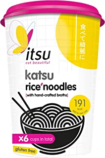 itsu Katsu Instant Noodles Cup (Pack of 6), F2245