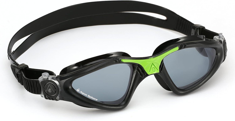 2021 new Aquasphere Unisex's Max 50% OFF Kayenne Swimming Green Goggle Dark Black