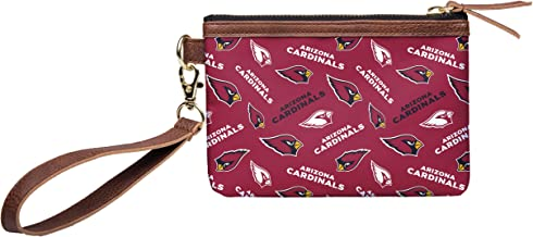 FOCO NFL Womens Printed Collection Repeat Logo Wristlet