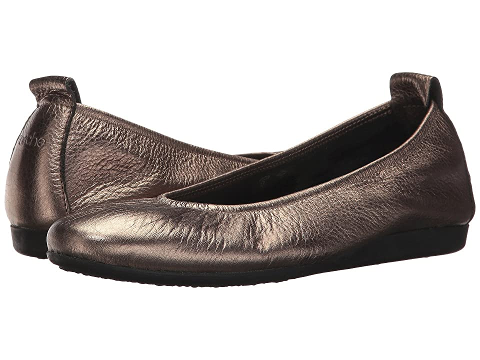 Arche Laius (Micas/Castor Metallic Leather) Women