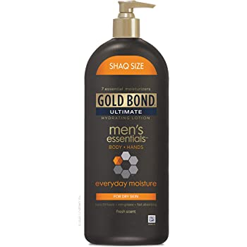 Gold Bond Men's Everyday Essentials Lotion, 21 Ounce