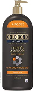 Sponsored Ad - Gold Bond Ultimate 21 Ounce Men's Everyday Hydrating Lotion, Everyday Moisture for Dry Skin