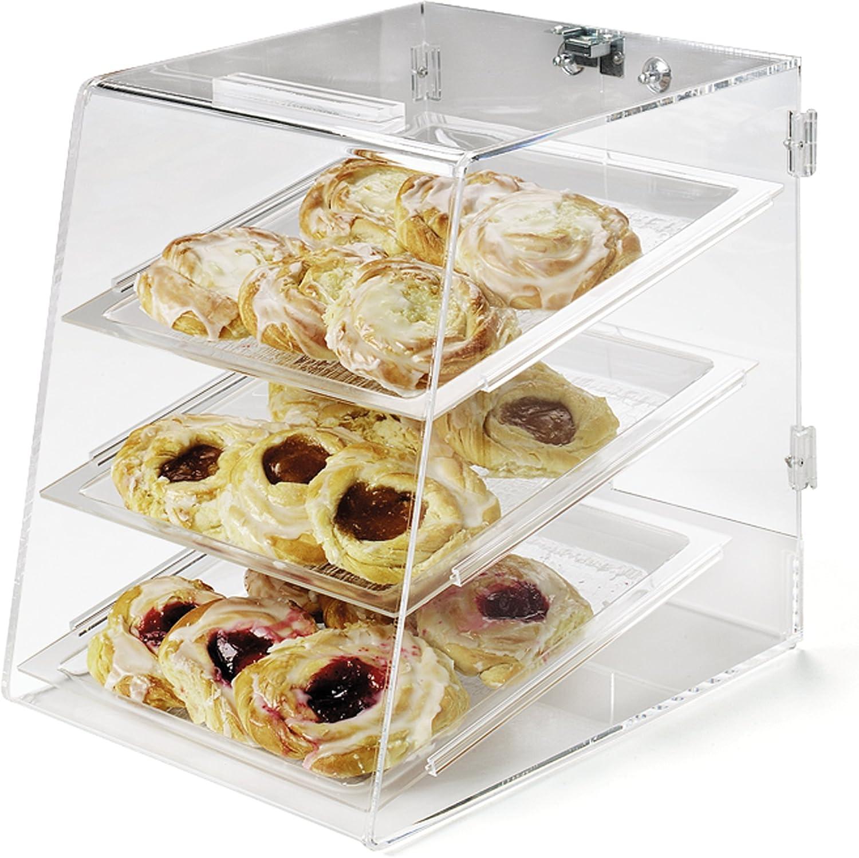 Carlisle SPD300KD07 Purchase Three Tray Bakery Rear Case Luxury Door Display 1