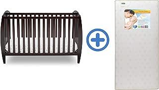 Delta Children Archer 4-in-1 Convertible Baby Crib, Dark Chocolate