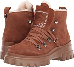 Russet High Suede Shearling