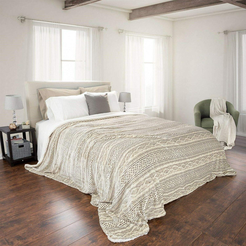 Austin Mall Super Soft and NEW Fuzzy Heavy Warm Blanket Cozy Snuggle 106 King x