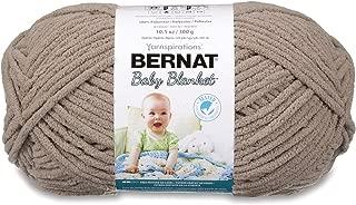 Bernat Baby Blanket Yarn, 10.5 Ounce, Baby Sand, Single Ball