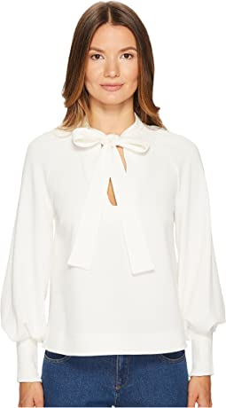See by Chloe - Crepe Neck Tie Blouse