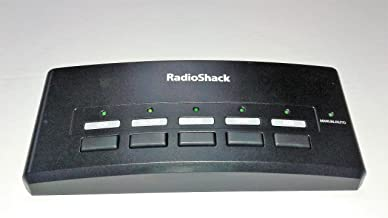 Auto-sensing A/V Switch 5-in/2-out