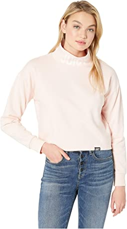 French Terry Turtleneck Pullover