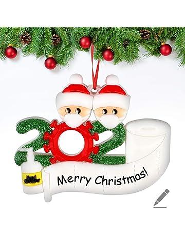 LPxdywlk 12pcs Ornamenti Fiocco di Neve Casa Albero di Natale Appeso Decorazione Festa di Natale Puntelli Decorazione Vacanza Azzurro