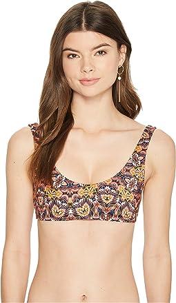 Sun Tribe Crop Tank Bikini Top