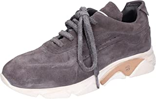 MOMA Sneaker Uomo Pelle Scamosciata Grigio