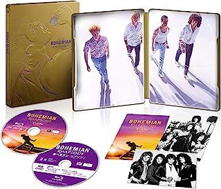 【Amazon.co.jp限定】ボヘミアン・ラプソディ ブルーレイ版スチールブック仕様 (特典映像ディスク付き) [Blu-ray]