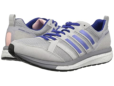 adidas Running adiZero Tempo 9 Grey Two/Real Lilac/Mystery Ink Outlet 6VYli6