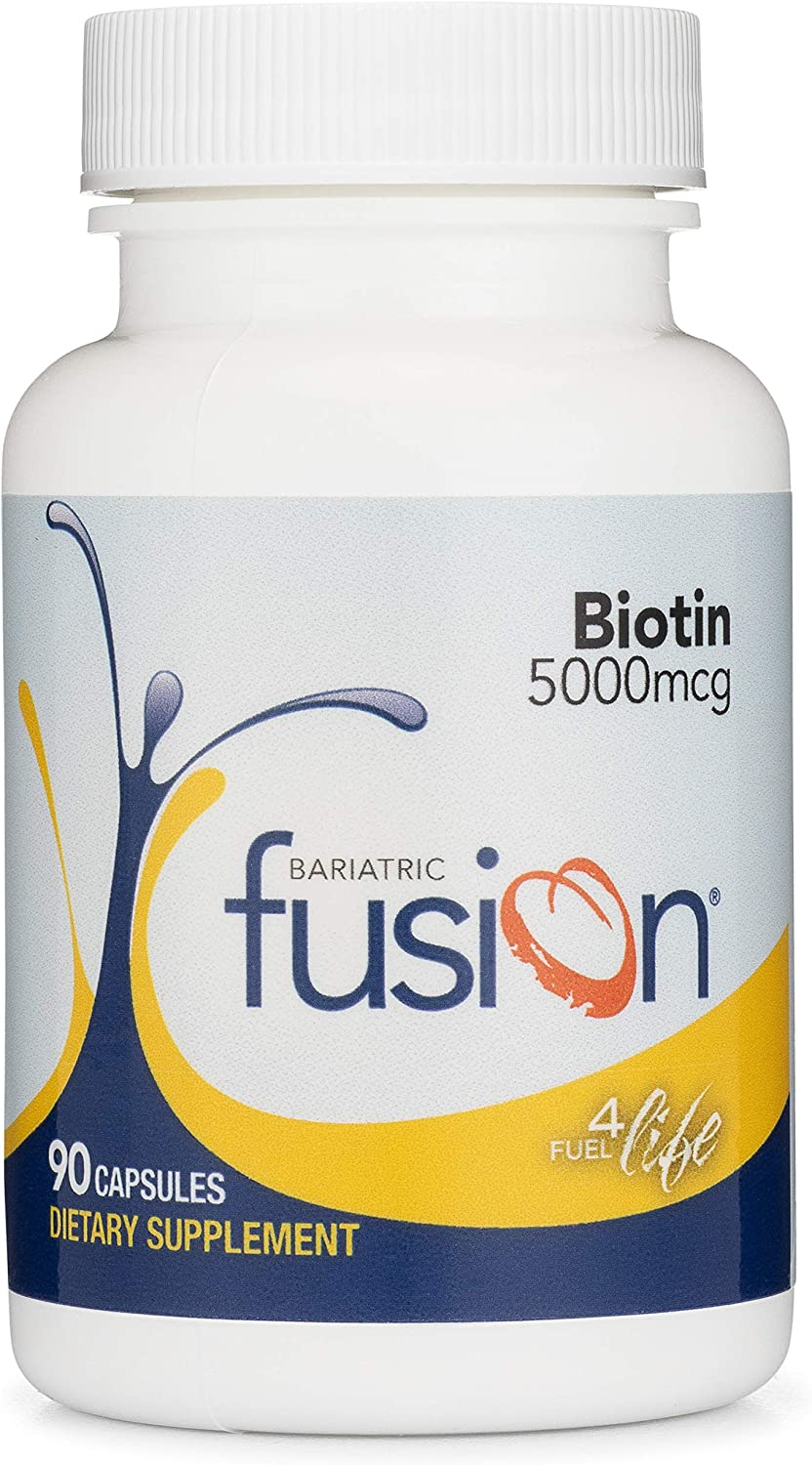 Bariatric Max 71% OFF Clearance SALE Limited time Fusion Biotin 5000mcg for Patients Surgery
