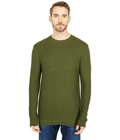 Selected Homme Conrad Crew Neck Sweater (Rifle Green Twisted) Men