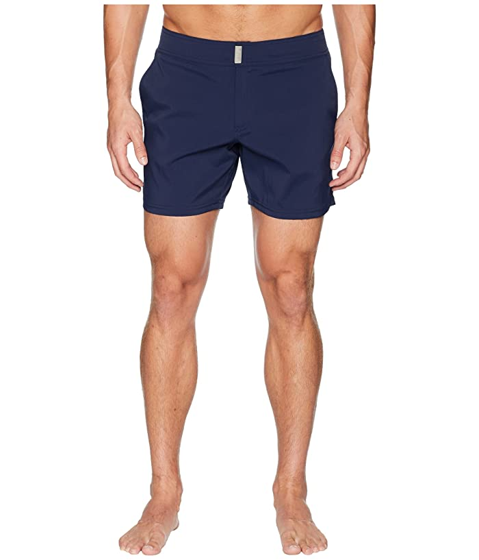 Vilebrequin Merise Solid Swim Trunk (Navy) Men