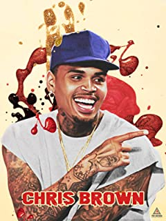 777 Tri-Seven Entertainment Chris Brown Poster Wall Art Print (18x24)
