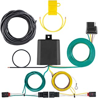CURT 56374 Vehicle-Side Custom 4-Pin Trailer Wiring Harness, Fits Select Volkswagen Golf R