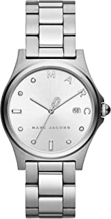 Marc Jacobs Women's MJ3599 Analog Quartz Silver Watch