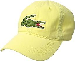 "Lacoste ""Big Croc"" Gabardine Cap"