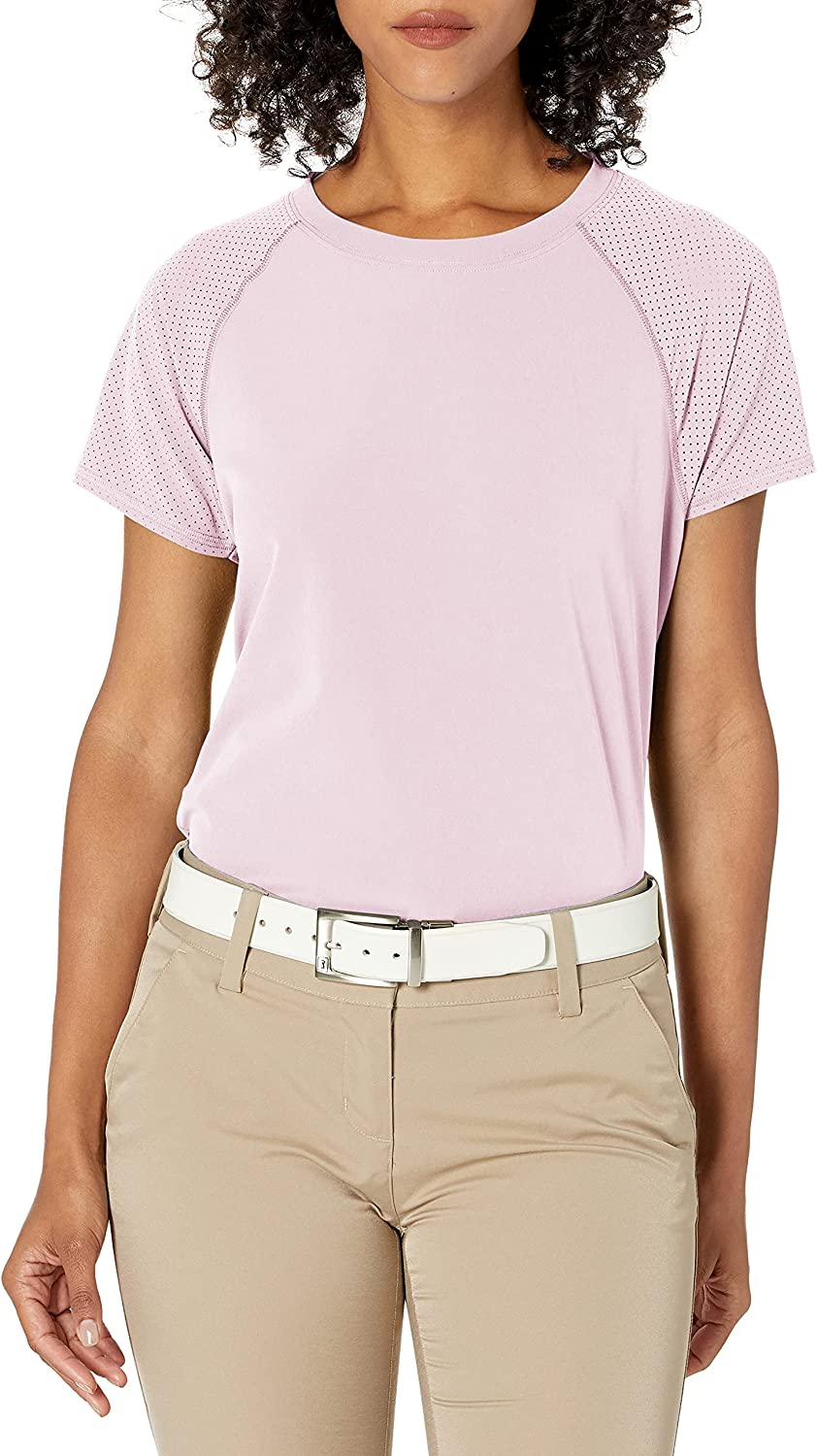 Cutter Buck Women's Short Quantity limited Sleeve Perforated Active Response Cr National uniform free shipping