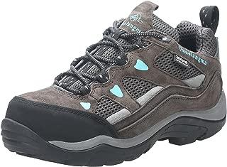 Women's Waterproof Wide Hiking Shoes Anti-Skid Walking Sneaker for Running Trekking Outdoor