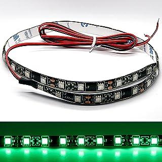 2 St/ück Einfache Installation LED-Warnleiste Autot/ür-Seitenatmosph/ärenleuchte f/ür jedes Auto//SUV//LKW Auto-LED-Streifenleuchten Lichter LED-Autot/ür Antikollisions-Warnleuchte