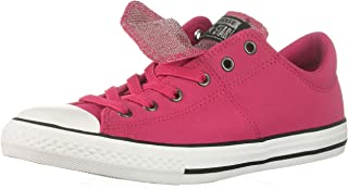 Converse Kids' Chuck Taylor All Star Maddie Glitter Leather Low Top Sneaker