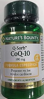 Nature´S Bounty Q-Sorb Q10 100Mg - 30 capsulas