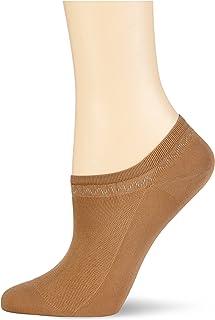 Nur Die, Feines Schuhsöckchen Calcetines cortos, Marrón (Amber 230), 35-38 para Mujer