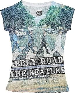 The Beatles Abbey Road Sublimation Junior Women's T-Shirt
