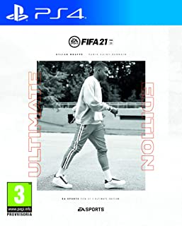 FIFA 21 PlayStation 4 Ultimate Ed, include upgrade per PS5