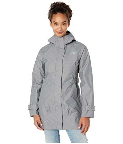 The North Face City Breeze Rain Trench (TNF Medium Grey Heather) Women
