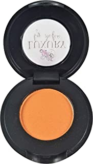 Luxury By Sofia Pressed Eyeshadow | Crease Resistant Eye Shadow, Highly Pigmented, Many Colors Available | Natural & Organic Ingredients, Lasts All Day & Provides Skin Care Benefits (Tangerine)