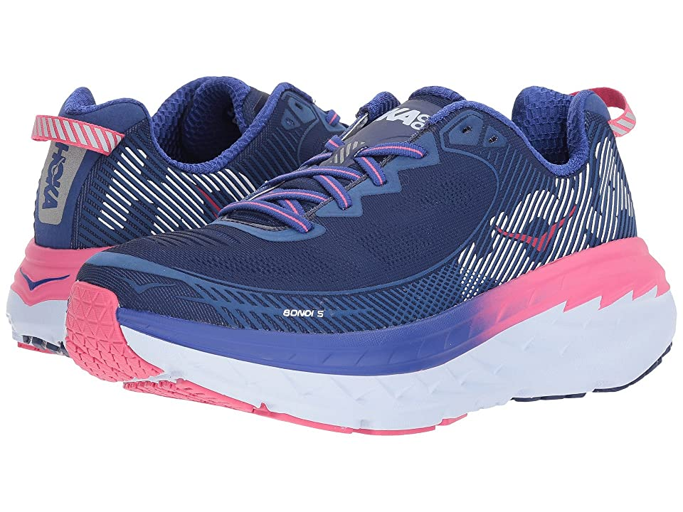 Hoka One One Bondi 5 (Blueprint/Surf the Web) Women