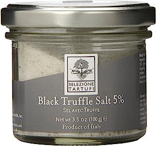 Selezione Tartufi 5% Black Truffle Salt, 3.5 Ounce