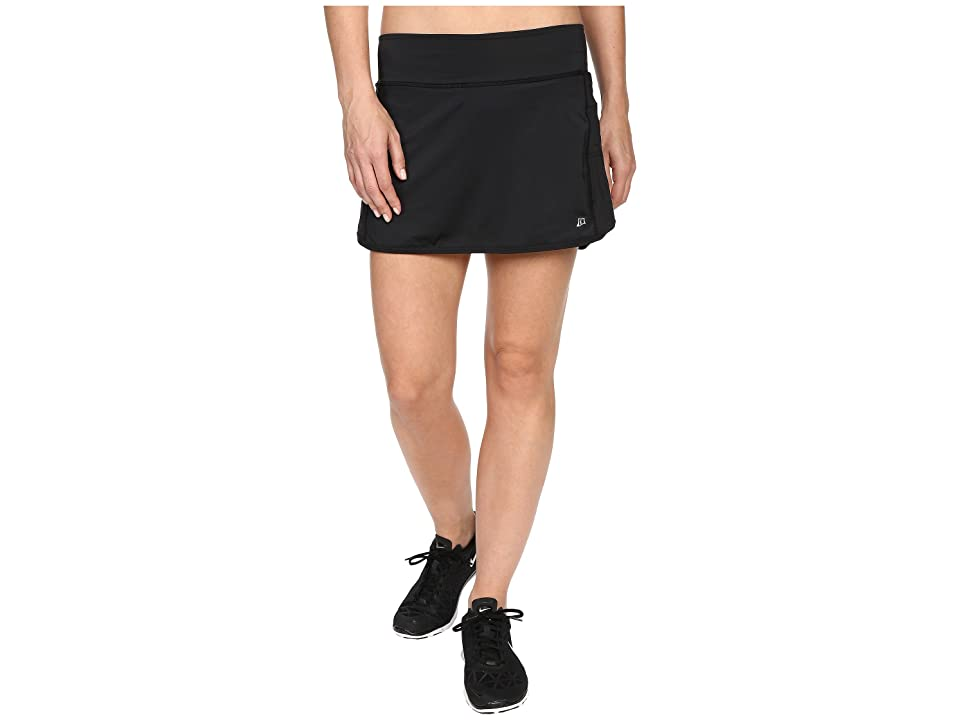 Skirt Sports Running Skirt with Spankies (Black) Women